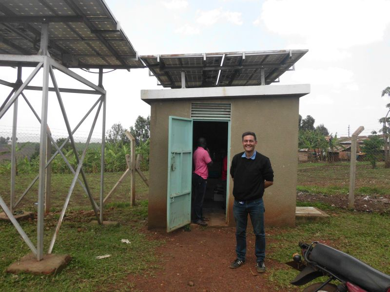 Visitors to Uganda SharedSolar
